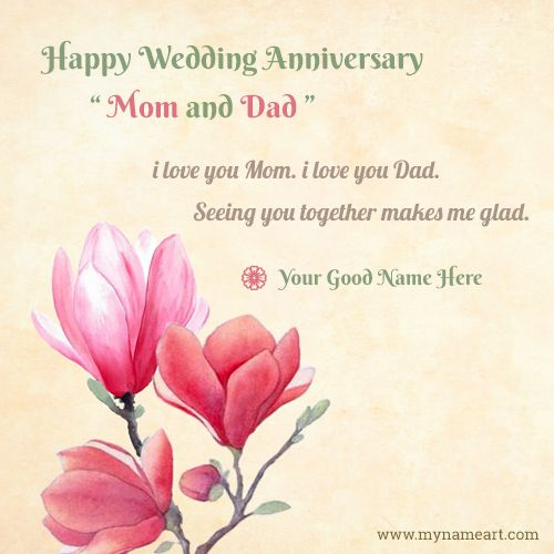 Wedding Anniversary Wishes For Mom And Dad Tumblr thumbnail