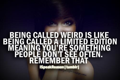 Weird Girl Quotes Pinterest thumbnail