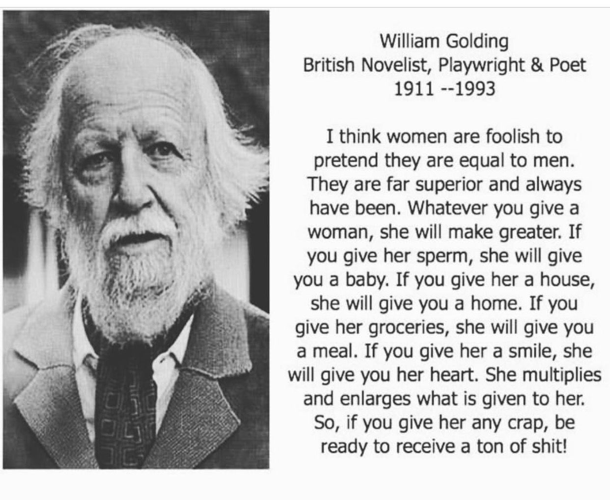 William Golding Quotes About Human Nature Twitter thumbnail