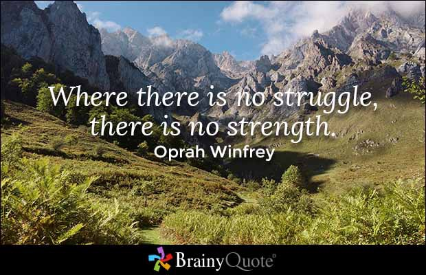 Without Struggle There Is No Strength Facebook thumbnail