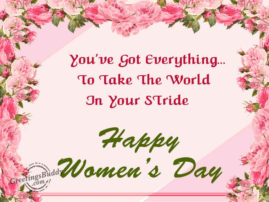 Women's Day Greetings Images thumbnail