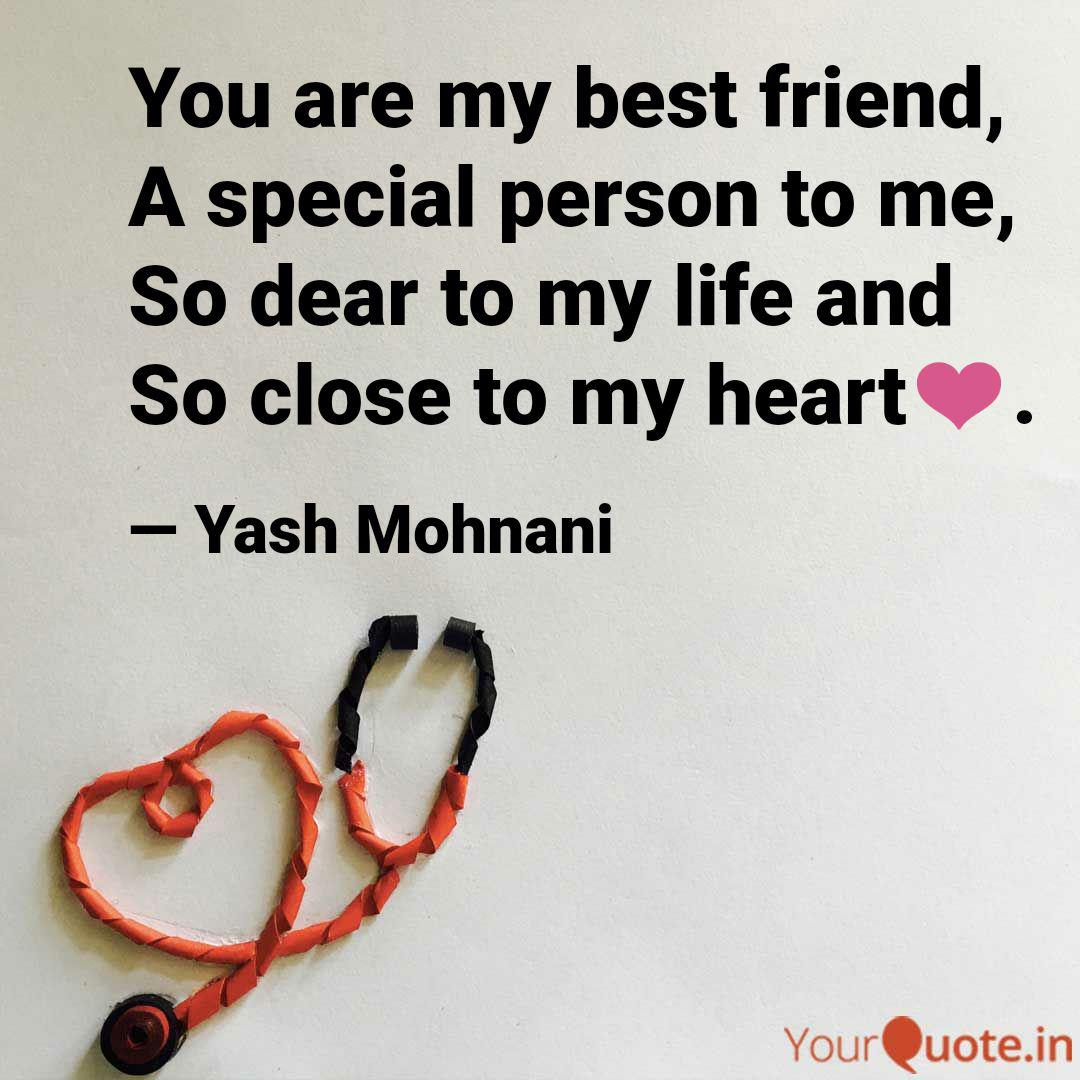 You Are My Special Friend Quotes Tumblr thumbnail