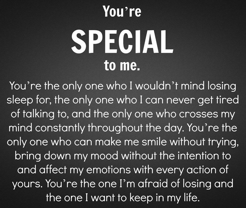 Me your special quotes to 50+ Best
