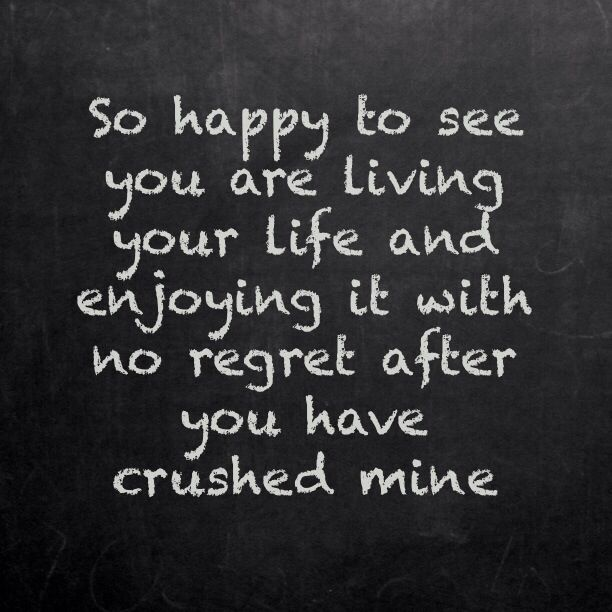You Destroyed My Life Quotes Tumblr thumbnail