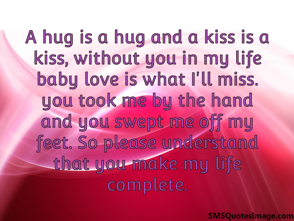 You Make My Life Complete Quotes Facebook thumbnail