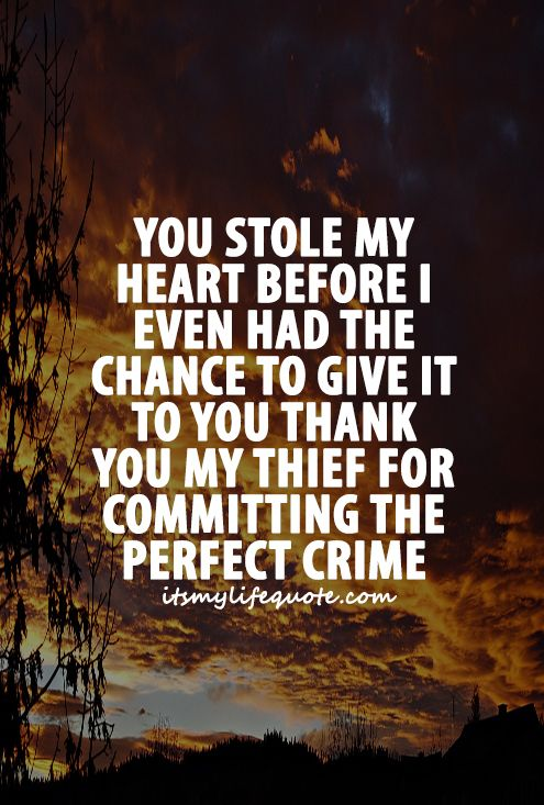You Stole My Heart Quotes Facebook thumbnail