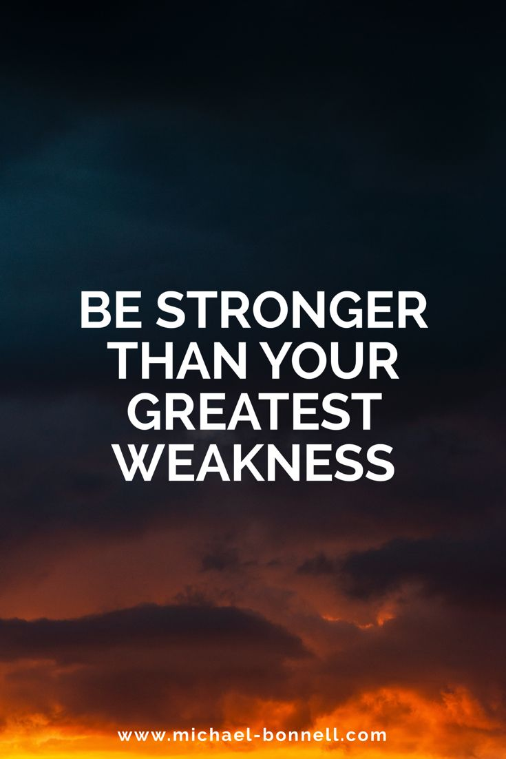 Your Greatest Strength Is Your Greatest Weakness Quote thumbnail