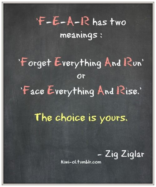 Zig Ziglar Fear Pinterest thumbnail